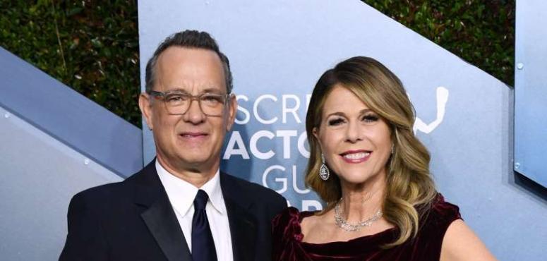 الممثل الأمريكي توم هانكس وزوجته يعلنان إصابتهما بفيروس كورونا
