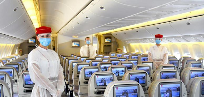 بالصور : طيران الإمارات تتخذ إجراءات جديدة لحماية المسافرين والموظفين