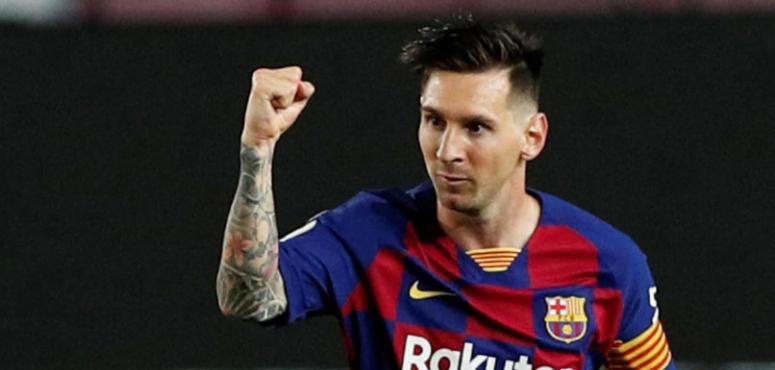 برشلونة يتعادل مع أتليتيكو مدريد وميسي يسجل هدفه 700