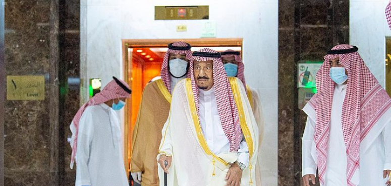العاهل السعودي يغادر المستشفى بعد خضوعه لعملية لاستئصال المرارة