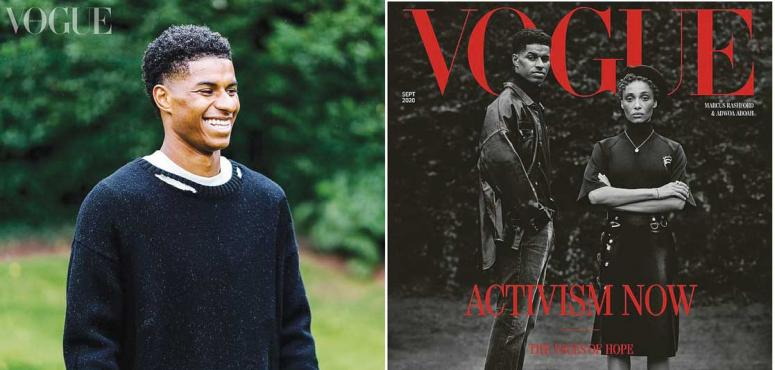 لأول مرة منذ 104 سنوات، مجلة فوغ تحتفي برجل أسمر على غلافها