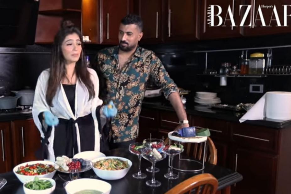 شاهدي مي عمر تعد الإفطار مع زوجها في رمضان 2020 أريبيان بزنس