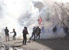 باعة جوالون يتشاجرون بالرصاص قرب قصر الرئاسة المصري