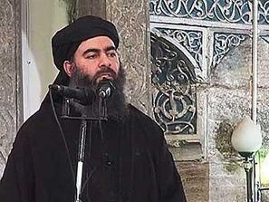 أنباء عن قصف موكب البغدادي زعيم داعش
