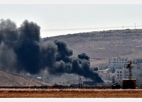 كوباني السورية على وشك السقوط في أيدي الدولة الاسلامية