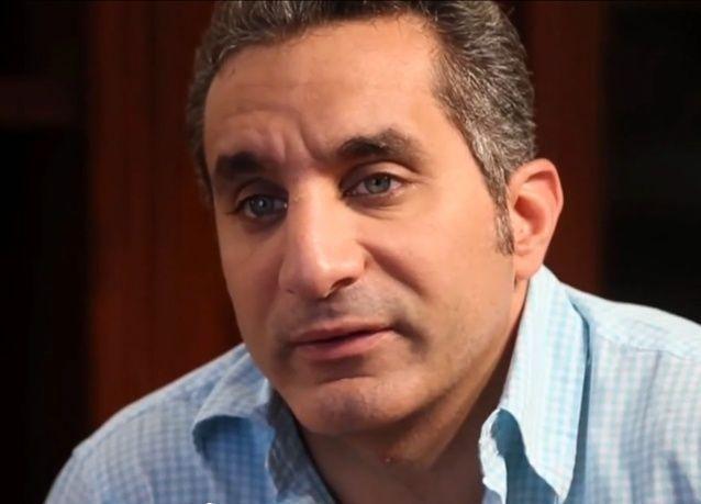 """الإعلامي المصري الساخر باسم يوسف:"""" لست نادما على انتقاد محمد مرسي"""""""