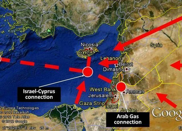 8 مليارات متر مكعب سنويا انتاج حقل غاز قبرصي ومد خط أنابيب لمصر