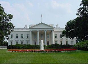 رجل يلقي مفرقعات نارية على سور البيت الأبيض