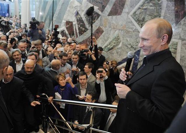 بوتين يؤدي اليمن الدستورية كرئيس لروسيا اليوم وسط انقسامات