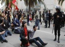 الرئيس التونسي منصف المرزوقي يدين العنف ويأسف للجرحى في الاحتجاجات