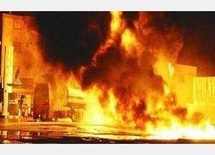 لليوم الثالث على التوالي استمرار محاولات السيطرة على حريق السويس