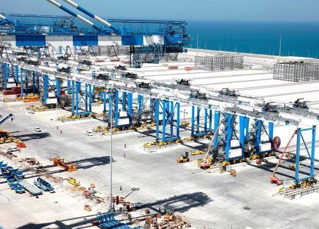 ميناء خليفة، أبوظبي، الإمارات العربية المتحدة