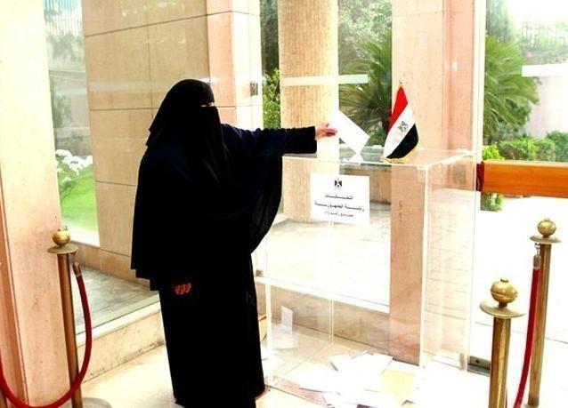 بالصور: انتخابات الرئاسة المصرية بدأت في المغتربات