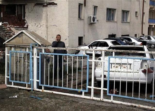 صور تفجير انتحاري يقتل شرطياً في تركيا