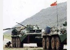 قوافل عسكرية تركية تنتشر على الحدود السورية