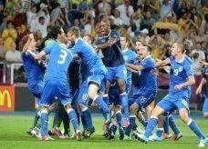 ايطاليا تقف بين اسبانيا وفوزها باللقب في نهائي بطولة أوروبا لكرة القدم 2012