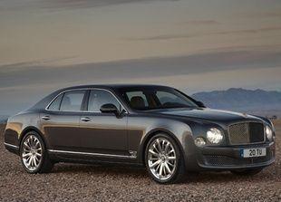 بيع نحو 4 آلاف سيارة بنتلي بالنصف الأول من 2012