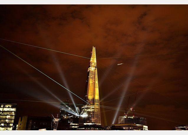 بالصور: افتتاح أطول برج في أوربا في لندن بملكية 95 بالمائة لقطر