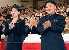 الزعيم الكوري يعلن زواجه من الفتاة الغامضة