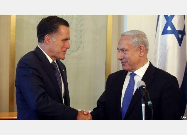 رومني يعد إسرائيل بحشد العالم لحفظ سلامها مع مصر