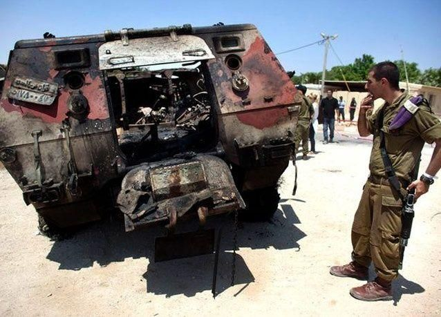 بالصور: تصعيد التوتر على الحدود المصرية الاسرائيلية