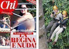 مجلة إيطالية تنشر 50 صورة عارية لملكة بريطانيا المستقبلية
