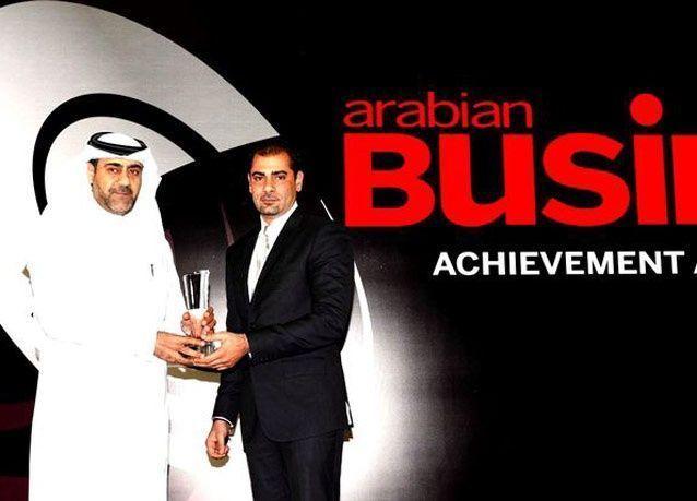 بالصور: جوائز مجلة أريبيان بزنس في قطر 2012