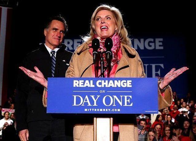 بالصور: الحملة الانتخابية للمرشح الجمهوري ميت رومني