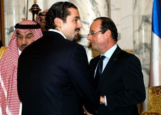 بالصور: العاهل السعودي يستضيف هولاند ويكرمه