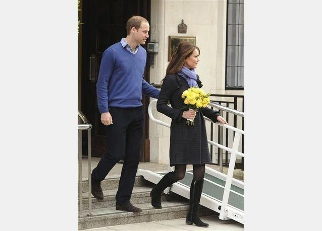 بالصور:الأمير وليام وزوجته كيت ينتظران طفلهما الأول