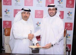 باريس غاليري تدعم برامج دبي العطاء لأطفال البلدان النامية