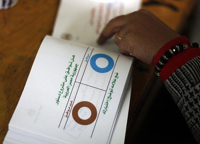 منظمات حقوقية: مخالفات في المرحلة الثانية من استفتاء الدستور بمصر