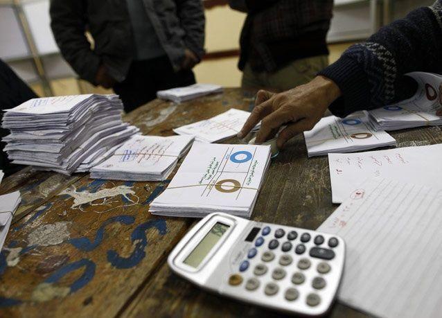 مصر: اعتذار رئيس اللجنة العليا للانتخابات وتظاهرة بالاسكندرية