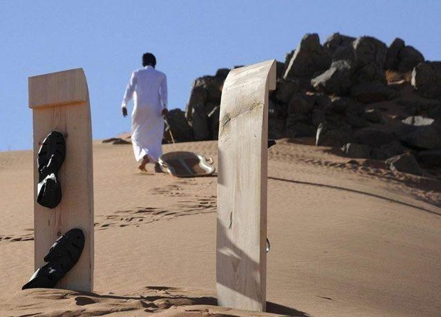 صور التزلج على الرمال في السعودية