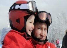 بوتين ...بطل لفيلم رياضي