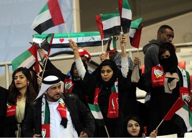 بالصور : الإمارات تهزم البحرين وتتأهل للمربع الذهبي بكأس الخليج