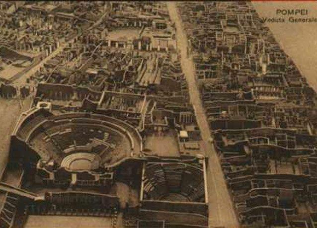 """بالصور: """"بومبي الإيطالية"""" المدينة التي أخفاها بركان واكتشفت لتروي قصصاً"""