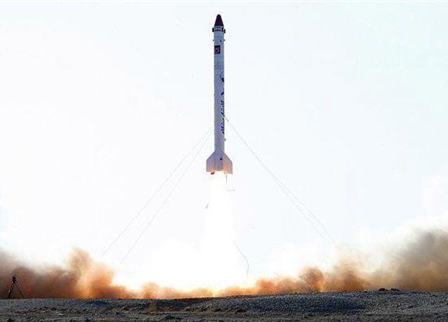 بالصور: إيران ترسل قرداً إلى الفضاء