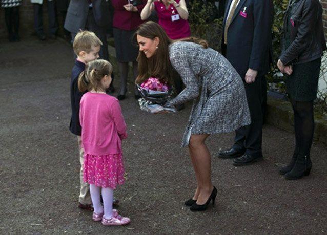 كيت زوجة الأمير وليام تضع مولودا ذكرا