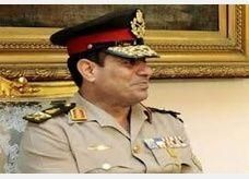 قيادة الجيش المصري تجتمع مع شخصيات دينية وسياسية وشبابية