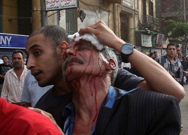 مصر: قتيل و124 مصاباً وحرق 5 مقار للإخوان حتي الآن