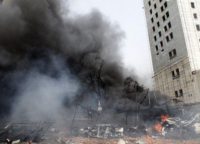 عاجل: سقوط قذيفتين في دمشق قرب فندق مفتشي الامم المتحدة