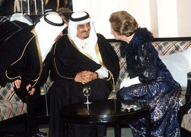 صور نادرة: مارغريت ثاتشر والقادة العرب