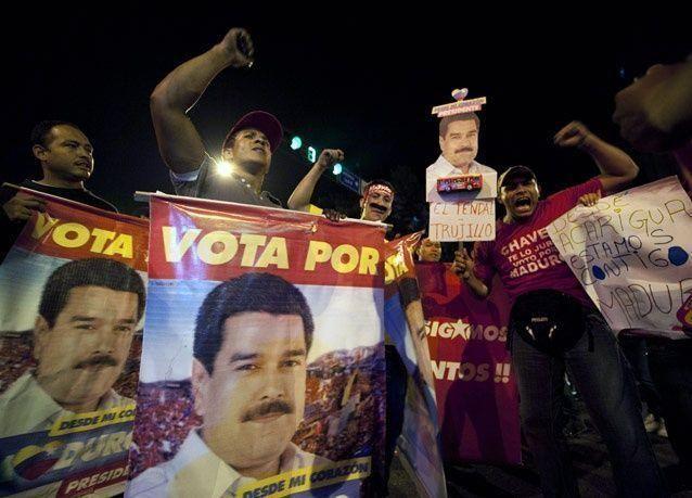 رئيس فنزويلا يتعهد أمام شعبه