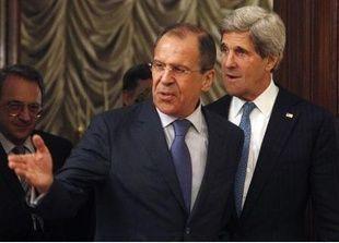 كيري ولافروف واثقان بشأن خطة مفاوضات السلام في سوريا