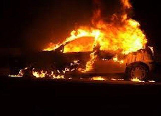 مواطنة غيورة أحرقت سيارة طليقها