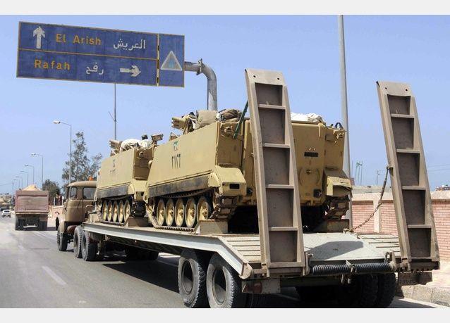 الجيش المصري يهاجم متشددين في سيناء وسقوط 30 بين قتيل وجريح