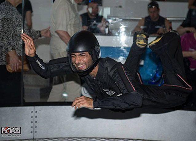 بالصور: دبي تفتتح أكبر نفق للقفز الحر في الأماكن المغلقة
