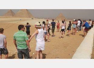 أكثر من سبعة ملايين سائح زاروا مصر خلال الأشهر الثمانية الأولى من عام 2013