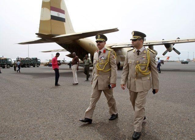 طائرات الإغاثة المصرية تصل إلى السودان